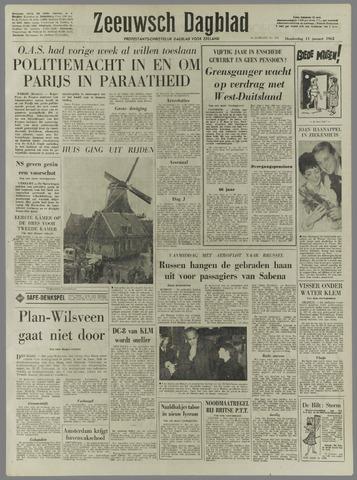 Zeeuwsch Dagblad 1962-01-11