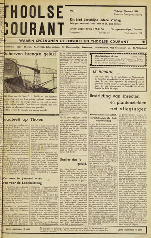 Ierseksche en Thoolsche Courant 1949
