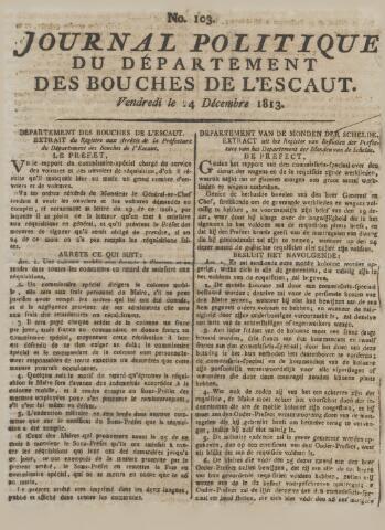 Middelburgsche Courant 1813-12-24