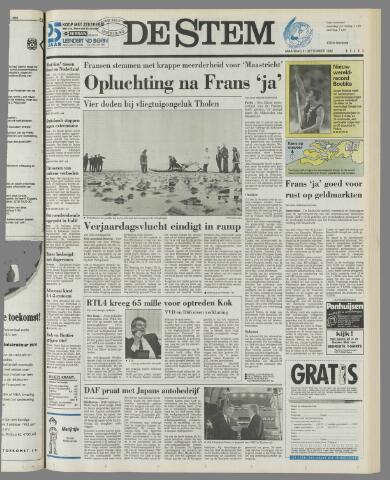 de Stem 1992-09-21