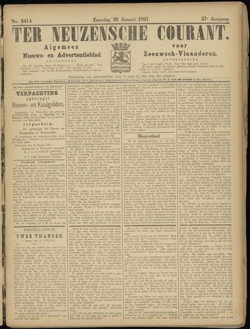 Ter Neuzensche Courant. Algemeen Nieuws- en Advertentieblad voor Zeeuwsch-Vlaanderen / Neuzensche Courant ... (idem) / (Algemeen) nieuws en advertentieblad voor Zeeuwsch-Vlaanderen 1897-01-30