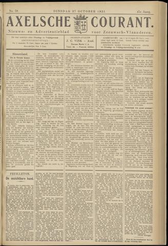 Axelsche Courant 1931-10-27