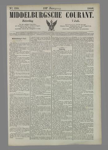 Middelburgsche Courant 1888-07-07