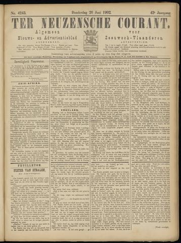 Ter Neuzensche Courant. Algemeen Nieuws- en Advertentieblad voor Zeeuwsch-Vlaanderen / Neuzensche Courant ... (idem) / (Algemeen) nieuws en advertentieblad voor Zeeuwsch-Vlaanderen 1902-06-26