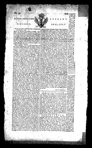 Middelburgsche Courant 1787