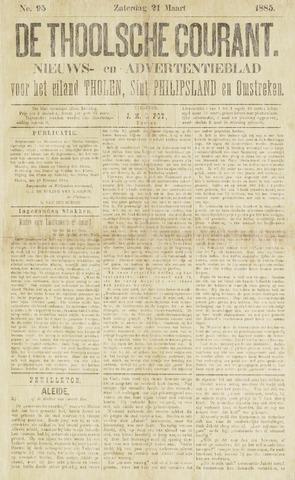 Ierseksche en Thoolsche Courant 1885-03-21