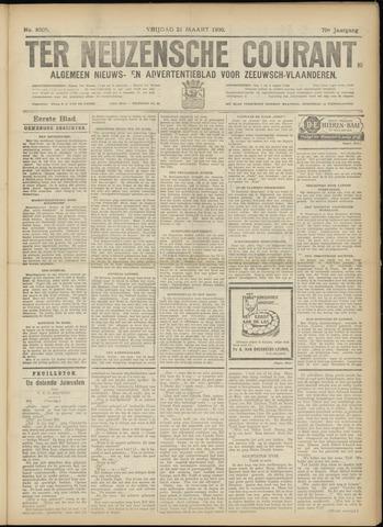 Ter Neuzensche Courant. Algemeen Nieuws- en Advertentieblad voor Zeeuwsch-Vlaanderen / Neuzensche Courant ... (idem) / (Algemeen) nieuws en advertentieblad voor Zeeuwsch-Vlaanderen 1930-03-21