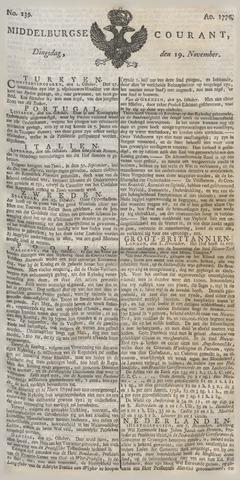 Middelburgsche Courant 1776-11-19