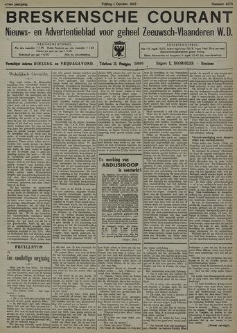 Breskensche Courant 1937-10-01
