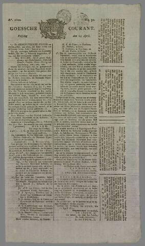 Goessche Courant 1820-04-14