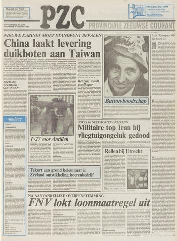 Provinciale Zeeuwse Courant 1981-10-01
