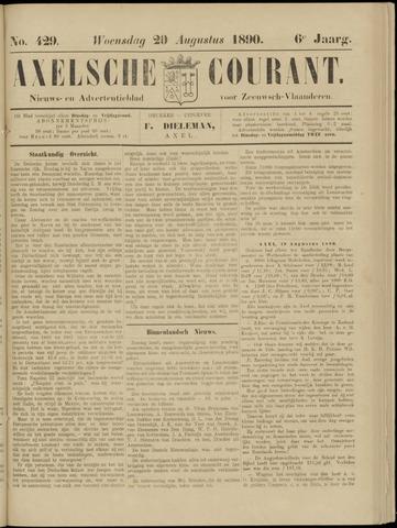 Axelsche Courant 1890-08-20