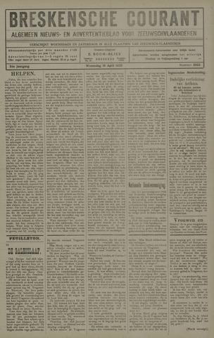 Breskensche Courant 1925-04-22