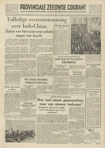 Provinciale Zeeuwse Courant 1954-07-21