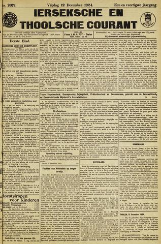 Ierseksche en Thoolsche Courant 1924-12-12