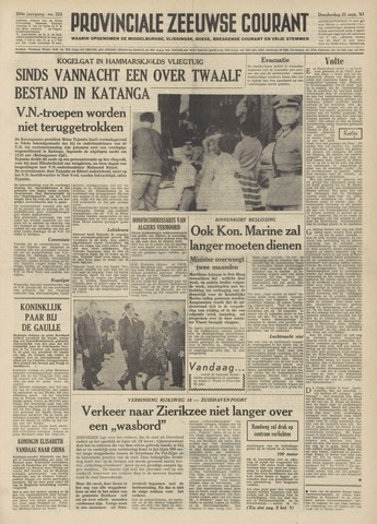 Provinciale Zeeuwse Courant 1961-09-21
