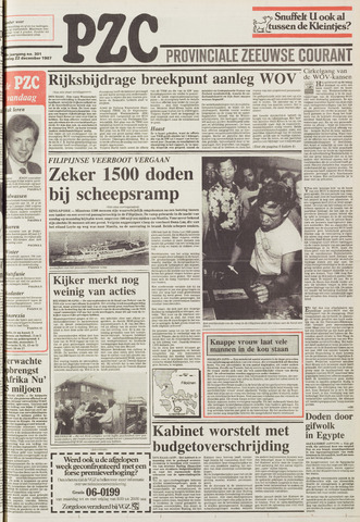 Provinciale Zeeuwse Courant 1987-12-22