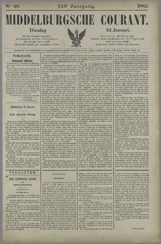 Middelburgsche Courant 1882-01-24