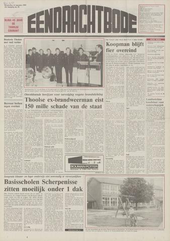 Eendrachtbode (1945-heden)/Mededeelingenblad voor het eiland Tholen (1944/45) 1989-08-24