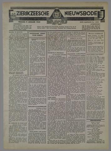 Zierikzeesche Nieuwsbode 1942-01-09