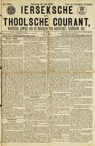 Ierseksche en Thoolsche Courant 1907-07-13