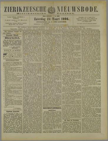 Zierikzeesche Nieuwsbode 1906-03-24