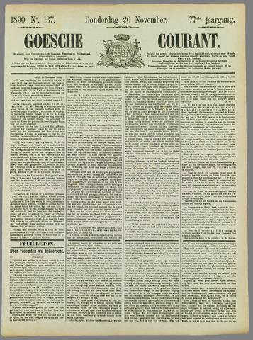 Goessche Courant 1890-11-20