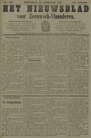 Nieuwsblad voor Zeeuwsch-Vlaanderen 1901-02-27