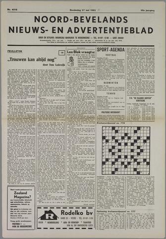 Noord-Bevelands Nieuws- en advertentieblad 1982-05-27