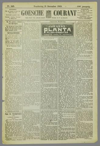 Goessche Courant 1919-12-18