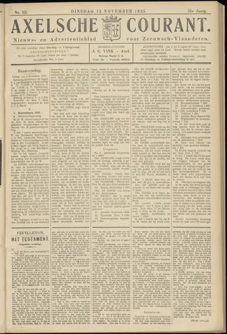 Axelsche Courant 1935-11-12