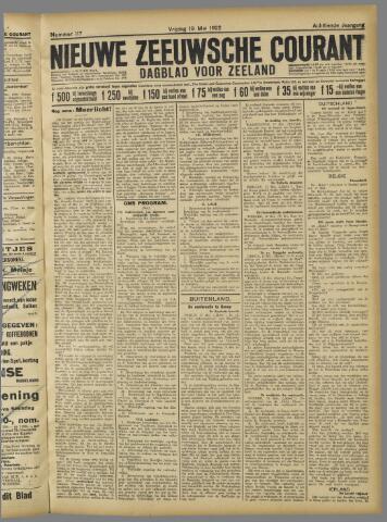 Nieuwe Zeeuwsche Courant 1922-05-19