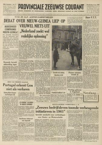 Provinciale Zeeuwse Courant 1962-01-04