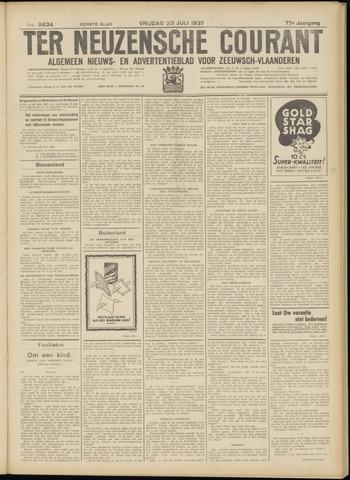 Ter Neuzensche Courant. Algemeen Nieuws- en Advertentieblad voor Zeeuwsch-Vlaanderen / Neuzensche Courant ... (idem) / (Algemeen) nieuws en advertentieblad voor Zeeuwsch-Vlaanderen 1937-07-23
