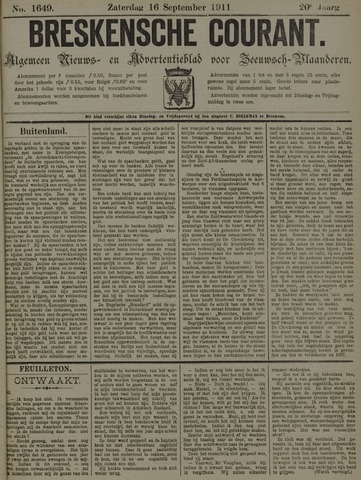 Breskensche Courant 1911-09-16