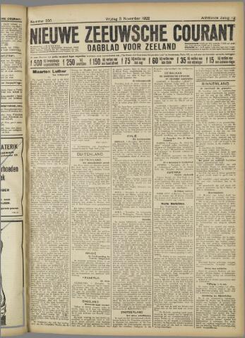 Nieuwe Zeeuwsche Courant 1922-11-03