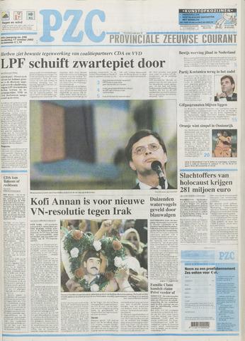 Provinciale Zeeuwse Courant 2002-10-17