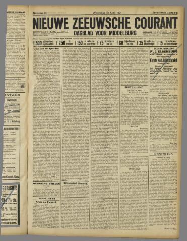 Nieuwe Zeeuwsche Courant 1921-04-13