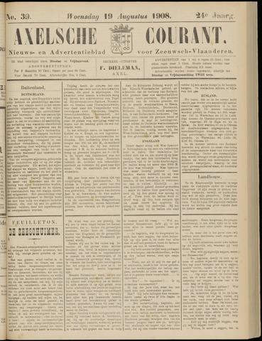 Axelsche Courant 1908-08-19