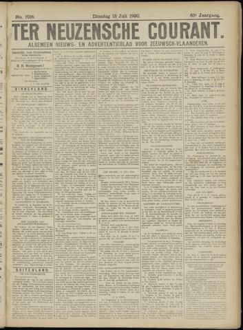 Ter Neuzensche Courant. Algemeen Nieuws- en Advertentieblad voor Zeeuwsch-Vlaanderen / Neuzensche Courant ... (idem) / (Algemeen) nieuws en advertentieblad voor Zeeuwsch-Vlaanderen 1920-07-13