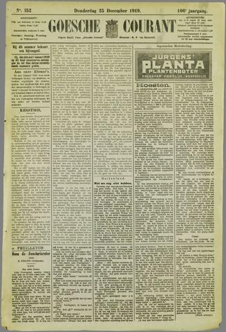 Goessche Courant 1919-12-25