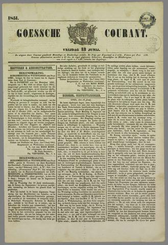 Goessche Courant 1851-06-13