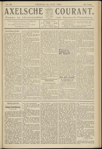 Axelsche Courant 1927-06-24