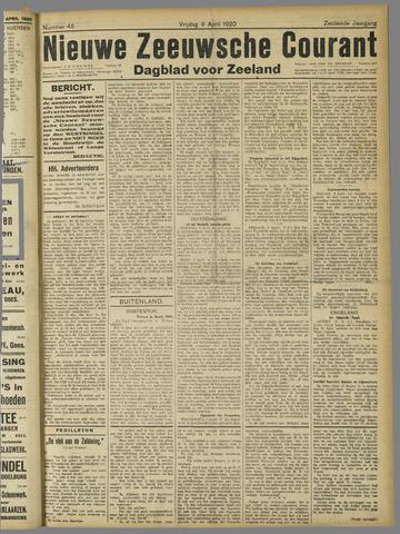 Nieuwe Zeeuwsche Courant 1920-04-09