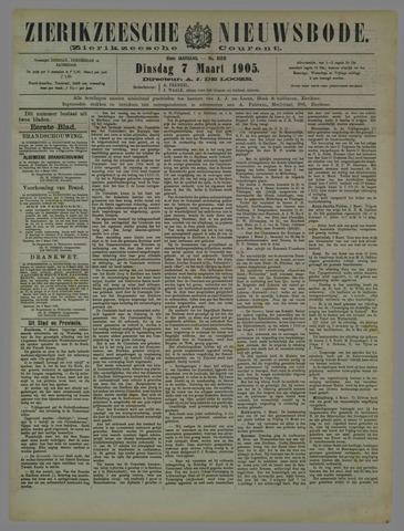 Zierikzeesche Nieuwsbode 1905-03-07
