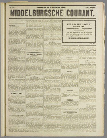 Middelburgsche Courant 1925-08-22