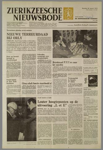 Zierikzeesche Nieuwsbode 1975-01-20