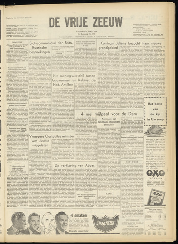 de Vrije Zeeuw 1956-04-27