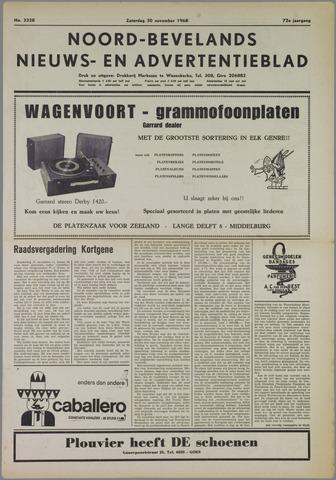 Noord-Bevelands Nieuws- en advertentieblad 1968-11-30