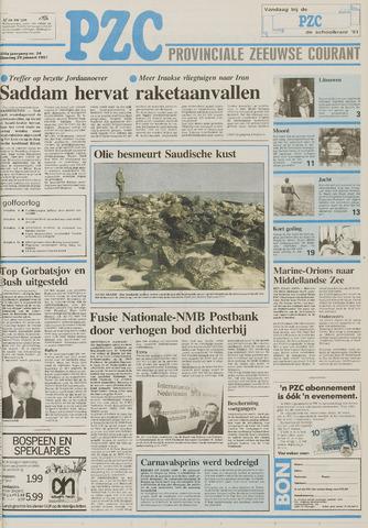 Provinciale Zeeuwse Courant 1991-01-29